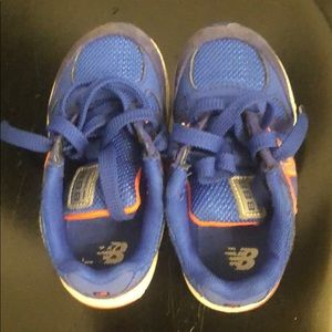 New balance toddler sneakers in great condition